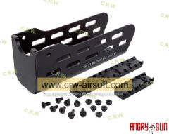 Angry Gun TAR 21 Military Rail System (Black)